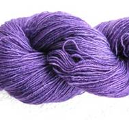 Hand dyed Blue Face Liecester pinkpurple
