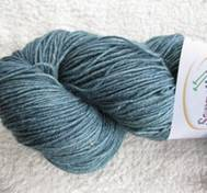 Hand dyed Blue Face Liecester bluegreen