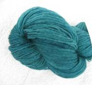 Hand dyed Blue Face Liecester greenteal