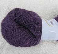Hand dyed sock yarn bambu purplepink