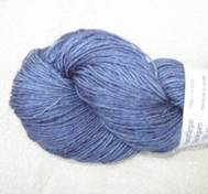 Hand dyed sock yarn bambu blue