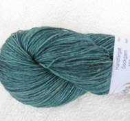 Hand dyed sock yarn bambu teal
