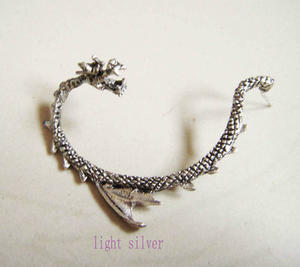 "Cool ""silver dragon"" cuff."