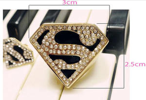Superman ring.