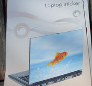 Laptop skin Goldfish