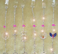 Strass bra straps