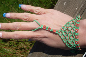 Hand jewellery Belly dancer from Egypt.
