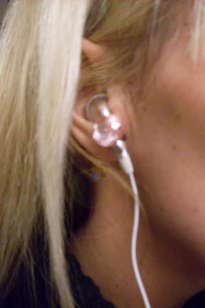Make your earphones bling