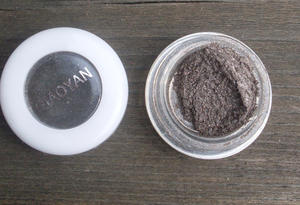 Eyeshadow pigment.