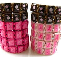 Bröstcancer armband