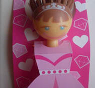 Princess dishbrush.