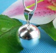 Gravidsmycke boll i äkta silver