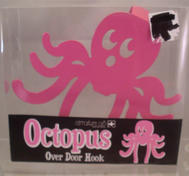 Pink Octopus doorhanger.