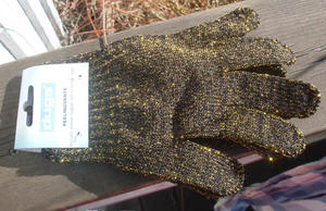 Bling bling scrubsgloves.
