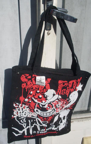 Skull shopping  bag
