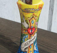 Ed hardy lighter Yellow.