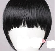 You want i fringe bangs?But dont want i haircut?Natural-Black