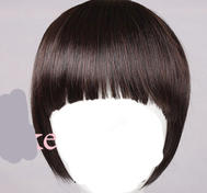 You want i fringe bangs?But dont want i haircut?Dark brown.