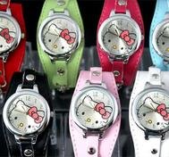 Hello kitty watch White.
