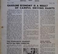 1960 Pontiac Craftsman Service News, March