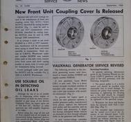 1960 Pontiac Craftsman Service News, September