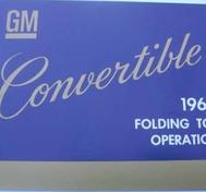 1966 GM Convertible Folding Top Operation