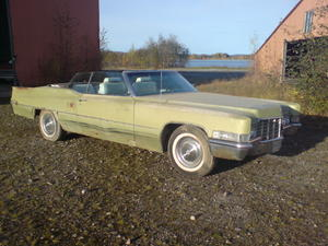 1969 Cadillac De Ville Convertible