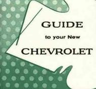 1955 Chevrolet Car Owner's Manual