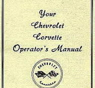 1953 - 1955 Chevrolet Corvette Operators Manual