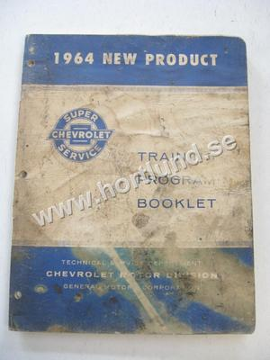 1964 Chevrolet New Product Training Program Booklet