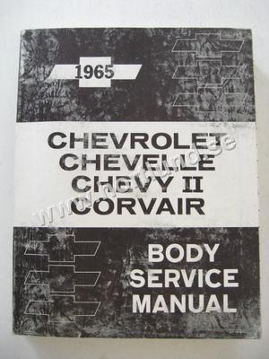 1965 Chevrolet Body Manual