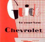 1957 Chevrolet Car Owner's Manual