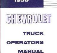 1958 Chevrolet Truck Owner's Manual