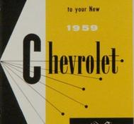1959 Chevrolet Car Owner's Manual