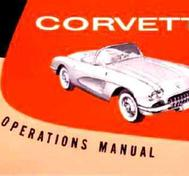 1959 Chevrolet Corvette Owner's Manual