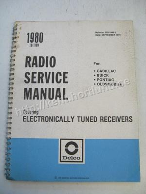 1980 Delco Radio Service Manual