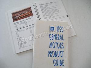 1993 GM Product Guide