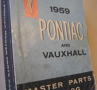 1959 Pontiac and Vauxhall Master Parts Catalog
