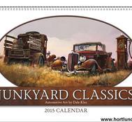 2015 Kalender Junkyard Classics