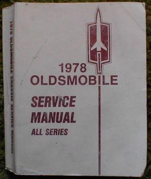 1978 Oldsmobile Chassis Service Manual alla modeller