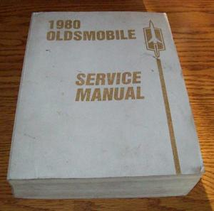1980 Oldsmobile Chassis Service Manual