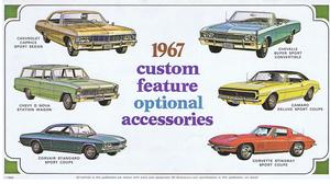1967 Chevrolet Custom Feature Optional Accessories