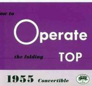 1955 GM How to operate the folding top