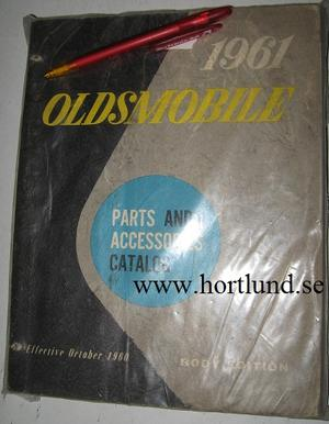 1961 Oldsmobile Body Parts Book