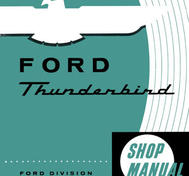 1959 Ford Thunderbird Shop Manual