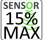 Sensor 15% / MAX