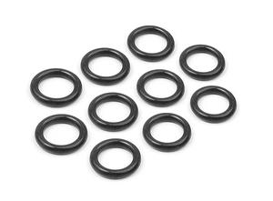 O-ring silikon 6x1.5mm (10)