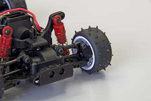 Mini-Z Buggy 2.4Ghz Ready set OPTIMA Blå/Vit