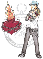 Tatto guy + fireheart