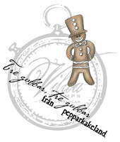 The gingerbread man + swedish text about gingerbread men